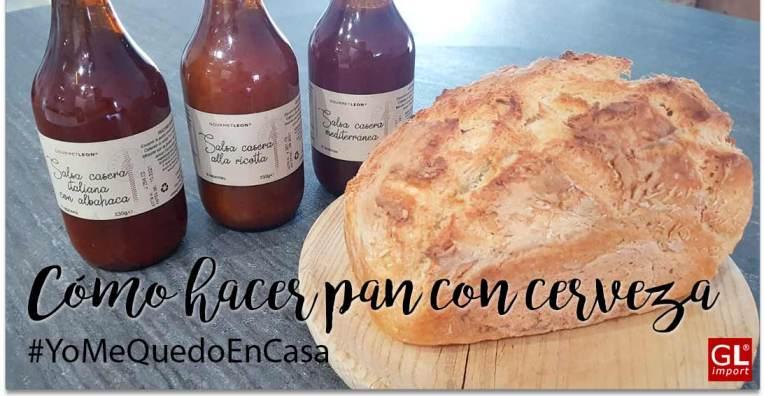 Pan sin levadura fresca Receta Pan con cerveza Recetas para el confinamiento